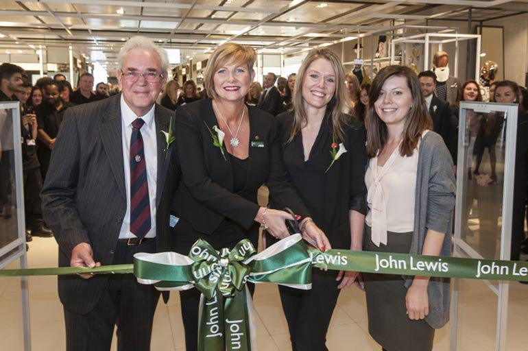 New John Lewis Birmingham store supports Birmingham Trees for Life