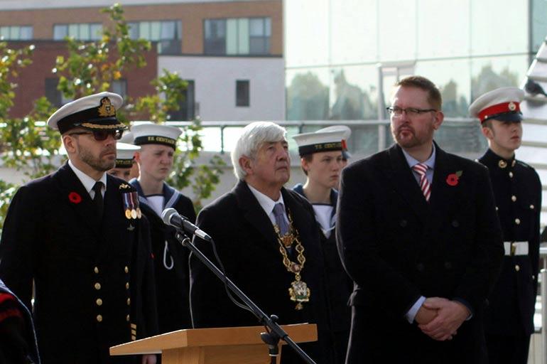 Commemorating Trafalgar Day