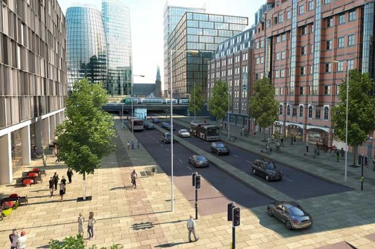 BCS Planning Committee comment on the Snow Hill Masterplan