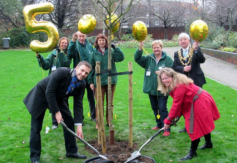 BTfL plant their 50,000th tree!