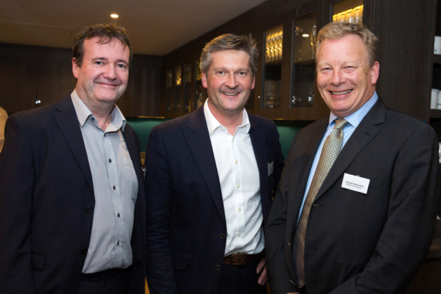 Pictured from left, Declan Crehan, Al Cory, Richard Sutherland.