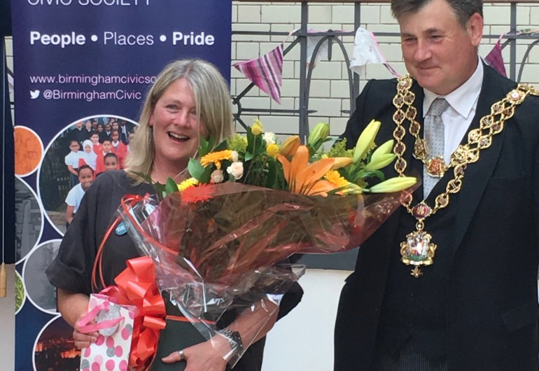 Stirchley Baths Renaissance Award unveiled
