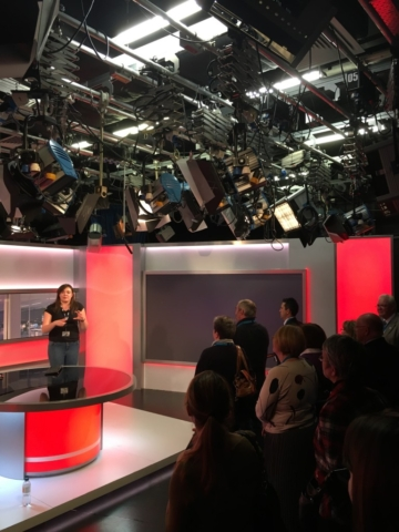 BBC Tour 2016 - Midlands Today Studio