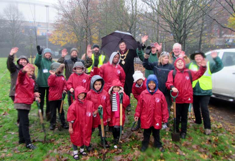 BTfL's tree planting season underway