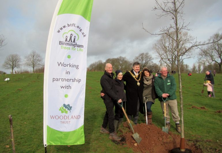 Official launch of BTfL's partnership with the Woodland Trust