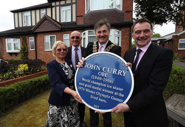 Forgotten Local Hero and Olympic Gold Medallist Honoured With Blue Plaque