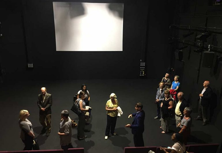 Backstage tour of The REP