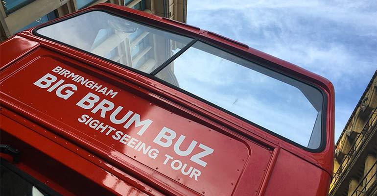 Brum's Big Conservation Area Buz Tour