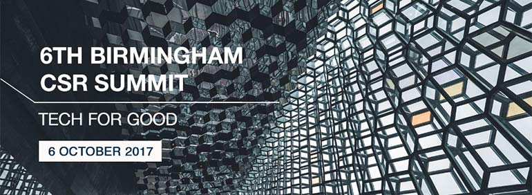 Birmingham 6th CSR Summit: Tech for Good!