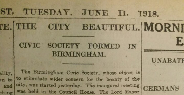 'The City Beautiful' Centenary launch