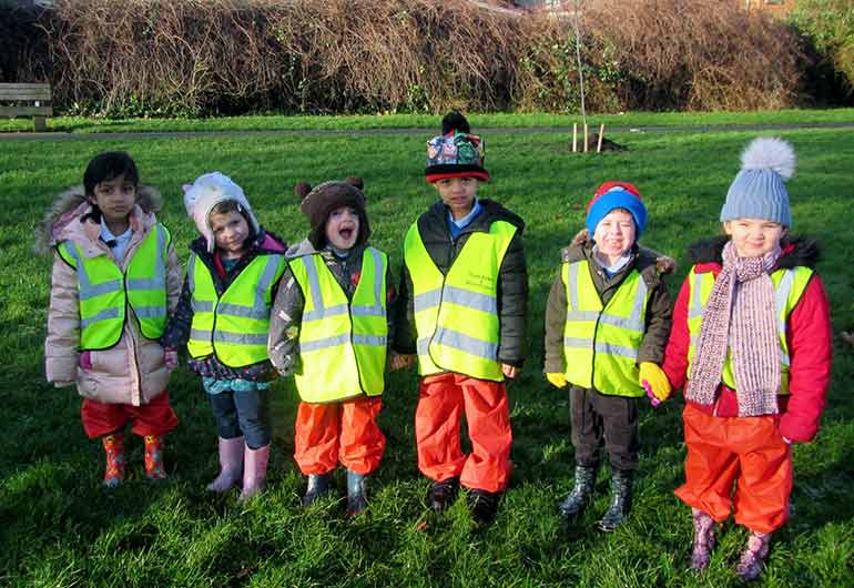 BTfL joined by young tree planters