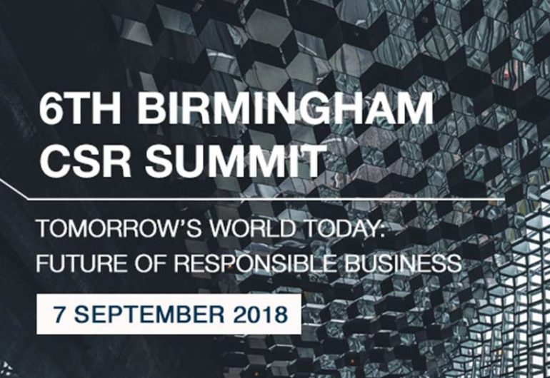 Birmingham 6th CSR Summit