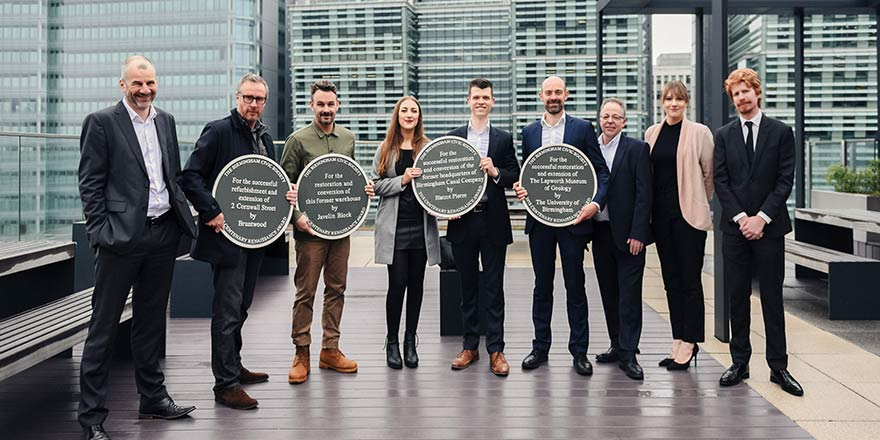 The Birmingham Civic Society 2018 Centenary Renaissance Awards unveiled