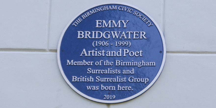Blue Plaque to Emmy Bridgwater unveiled