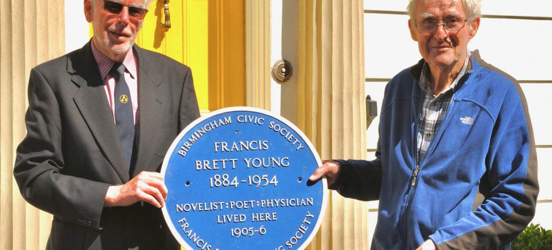 Francis Brett Young Plaque Re-erected